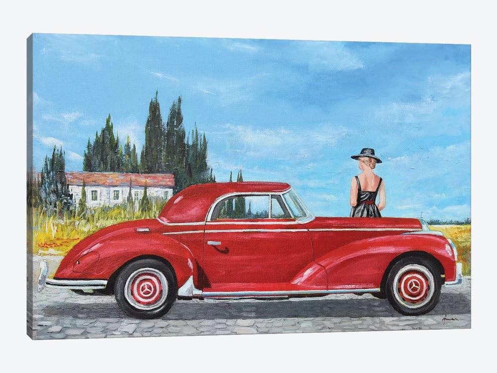1957 Mercedes-Benz 300 Coupe by Sinisa Saratlic 1-piece Canvas Artwork