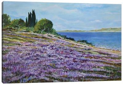 Along The Shore Canvas Art Print