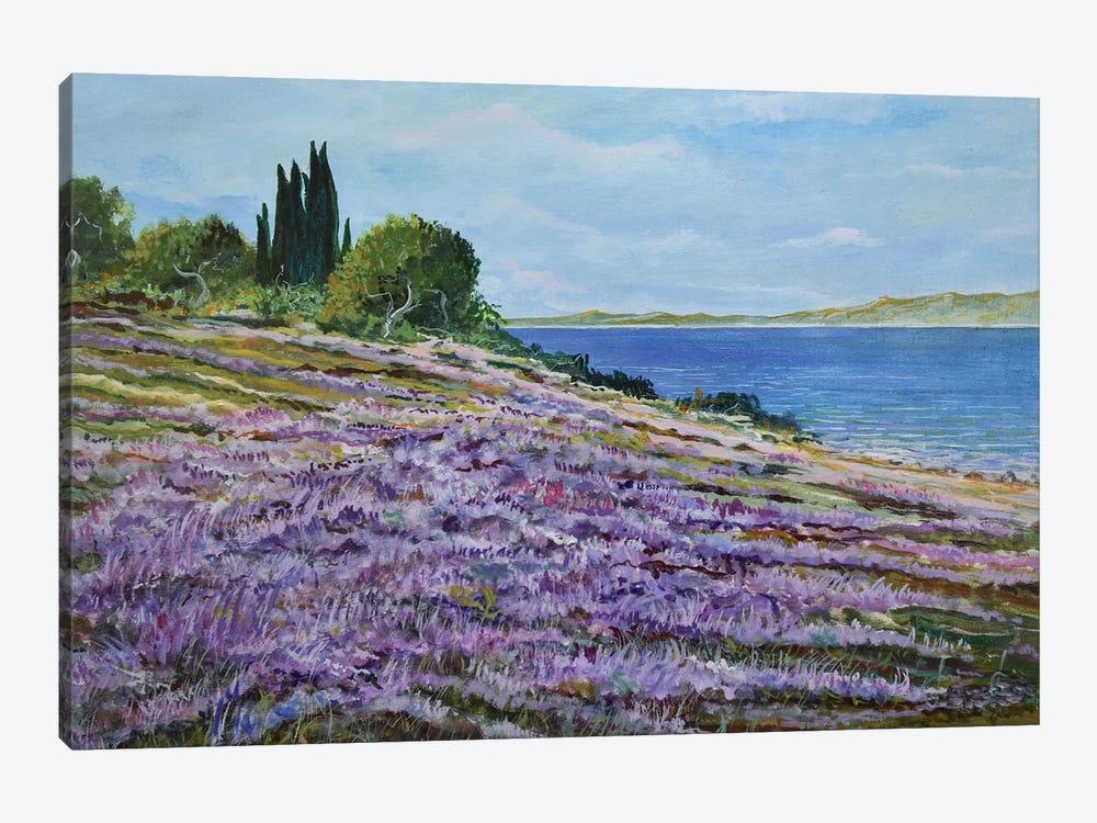 Along The Shore by Sinisa Saratlic 1-piece Canvas Art Print