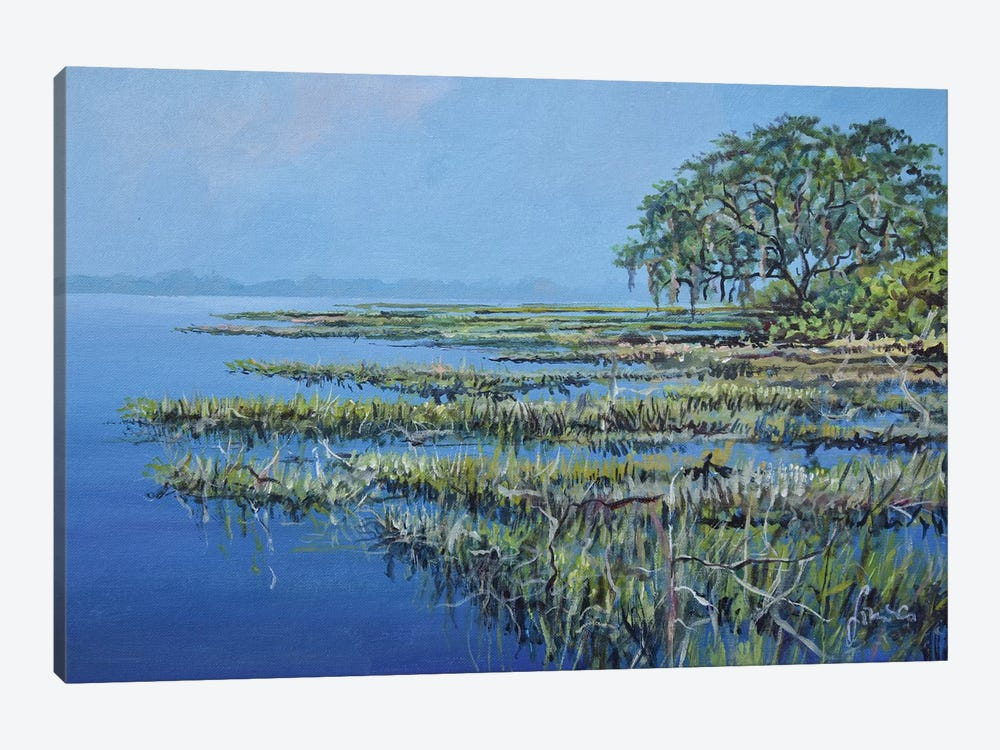 Marshland by Sinisa Saratlic 1-piece Art Print
