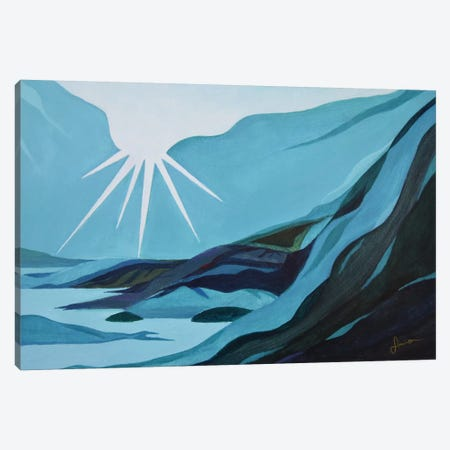 Morning Light Canvas Print #SNS73} by Sinisa Saratlic Canvas Artwork
