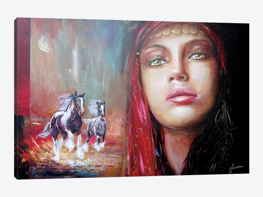 Gypsy Beauty by Sinisa Saratlic 1-piece Canvas Wall Art