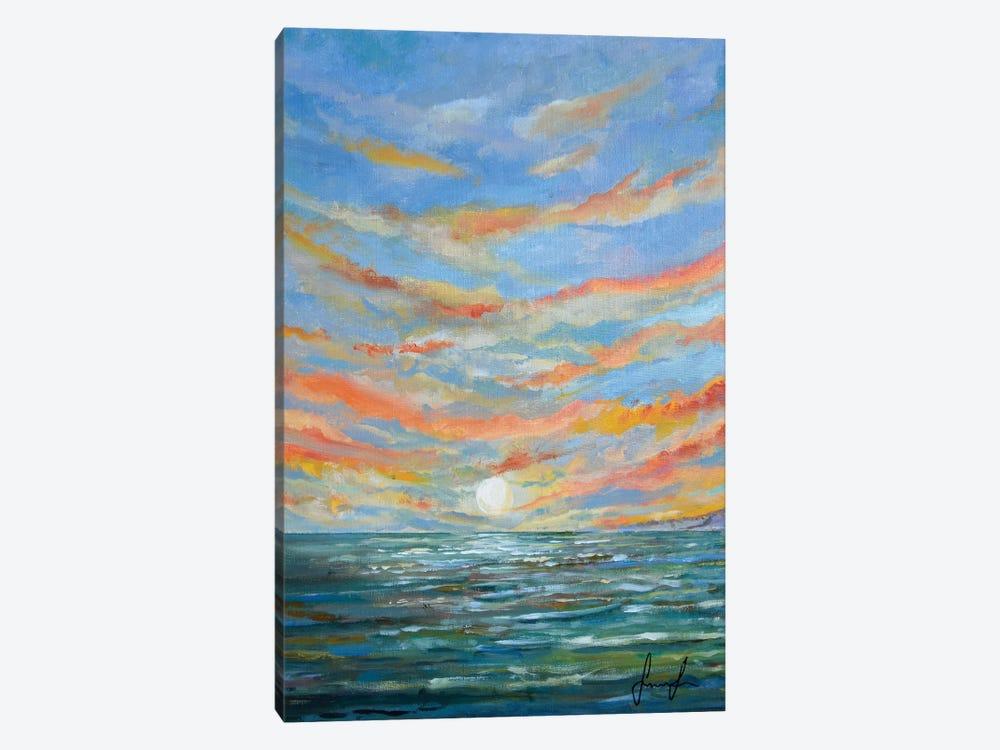 Sunset by Sinisa Saratlic 1-piece Canvas Wall Art