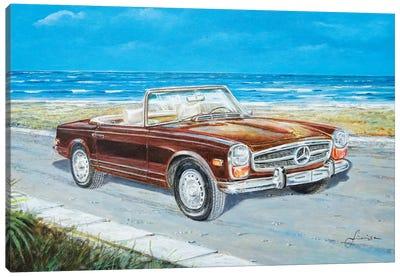 1970 Mercedes-Benz 280 SL Pagoda Canvas Art Print