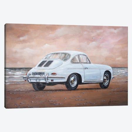 1962 Porsche 356 Carrera 2 Canvas Print #SNS8} by Sinisa Saratlic Canvas Art