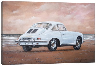 1962 Porsche 356 Carrera 2 Canvas Art Print