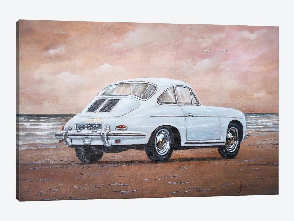 1962 Porsche 356 Carrera 2 by Sinisa Saratlic 1-piece Art Print