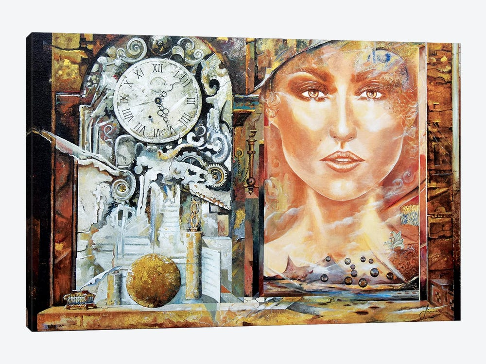 About Time by Sinisa Saratlic 1-piece Canvas Art