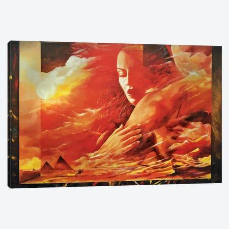 Desert Light Canvas Print #SNS95} by Sinisa Saratlic Canvas Art Print