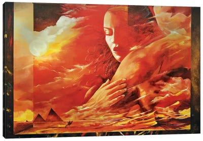 Desert Light Canvas Art Print