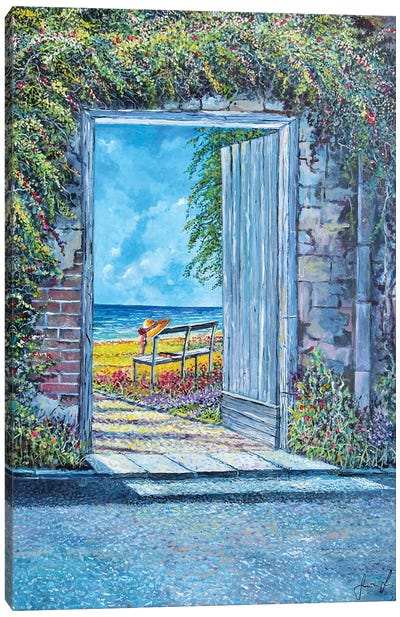 Doorway To... Canvas Art Print