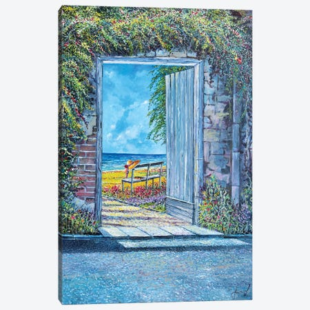 Doorway To... Canvas Print #SNS96} by Sinisa Saratlic Canvas Print