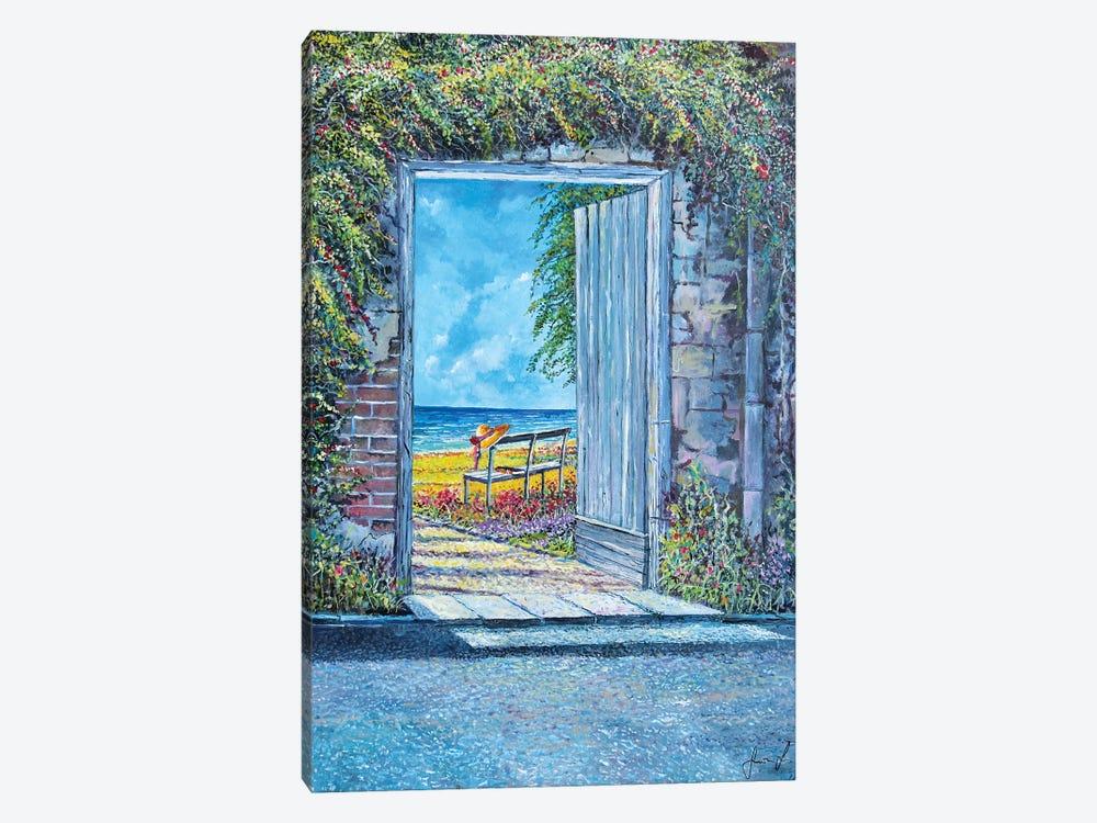 Doorway To... by Sinisa Saratlic 1-piece Canvas Art Print