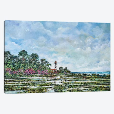 Lighthouse Canvas Print #SNS97} by Sinisa Saratlic Canvas Art Print