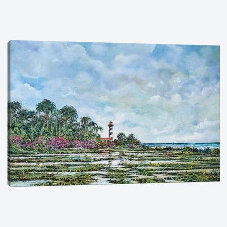 Lighthouse Canvas Print #SNS97} by Sinisa Saratlic Canvas Art Print