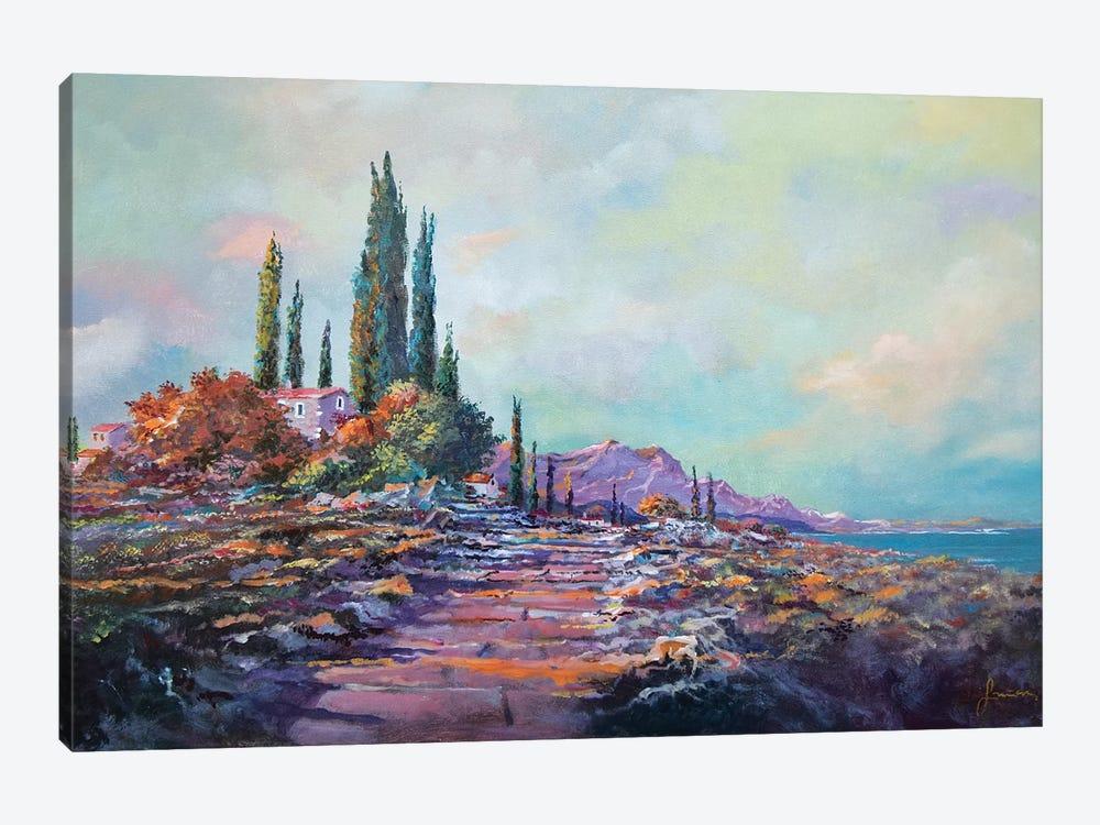 Morning Mist by Sinisa Saratlic 1-piece Canvas Wall Art