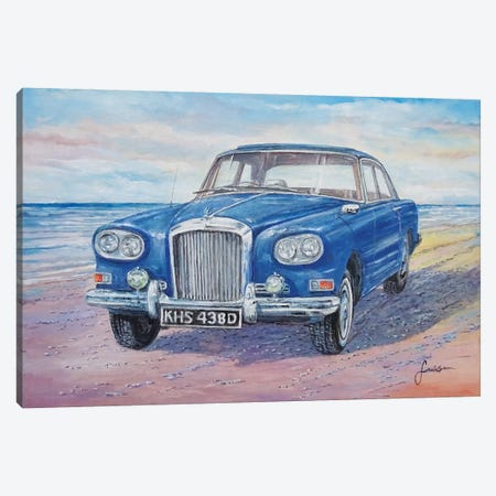 1963 Bentley Continental S3 Coupe Canvas Print #SNS9} by Sinisa Saratlic Canvas Artwork