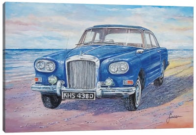 1963 Bentley Continental S3 Coupe Canvas Art Print