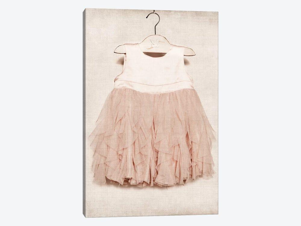 Vintage Pink Dress by Saint and Sailor Studios 1-piece Canvas Art