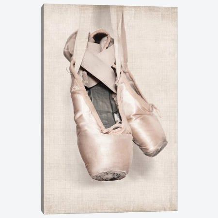 VintageBallet Shoes Canvas Print #SNT106} by Saint and Sailor Studios Art Print