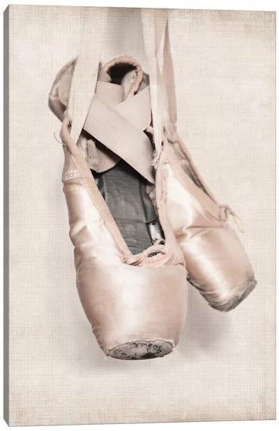 VintageBallet Shoes Canvas Art Print