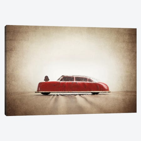 ARGO Red And White Canvas Print #SNT10} by Saint and Sailor Studios Canvas Print
