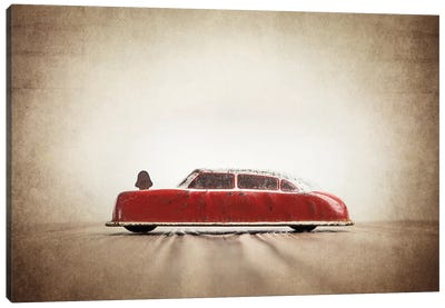 ARGO Red And White Canvas Art Print