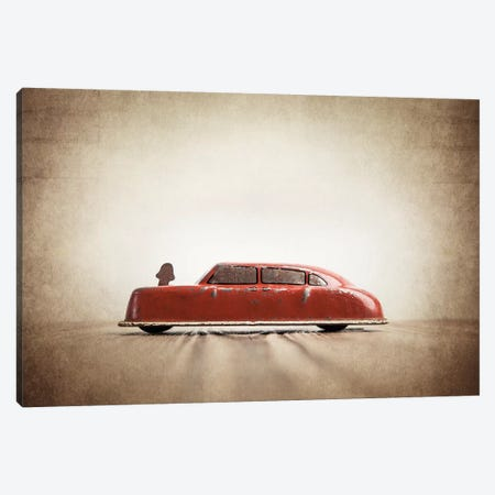 ARGO Red Car Canvas Print #SNT11} by Saint and Sailor Studios Canvas Print