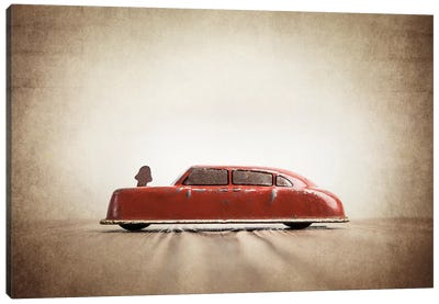 ARGO Red Car Canvas Art Print