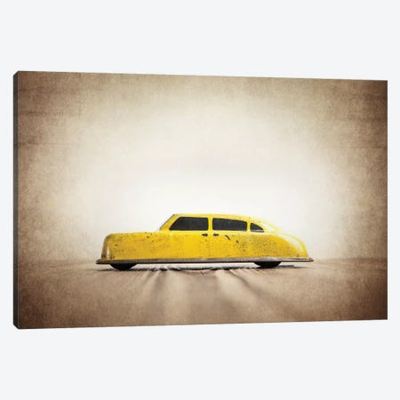 ARGO Yellow Taxi Canvas Print #SNT12} by Saint and Sailor Studios Canvas Print