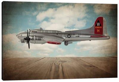 B17 Flying Fortress Canvas Art Print
