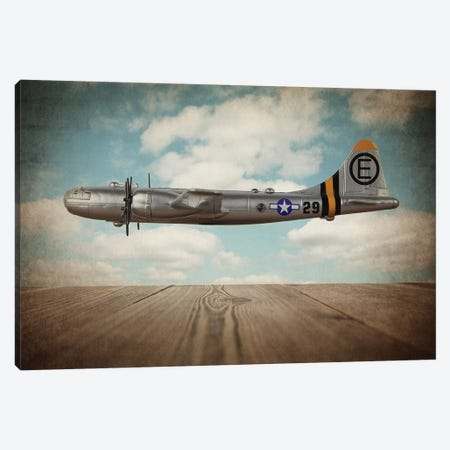 B29 Super Fortress Canvas Print #SNT15} by Saint and Sailor Studios Canvas Artwork