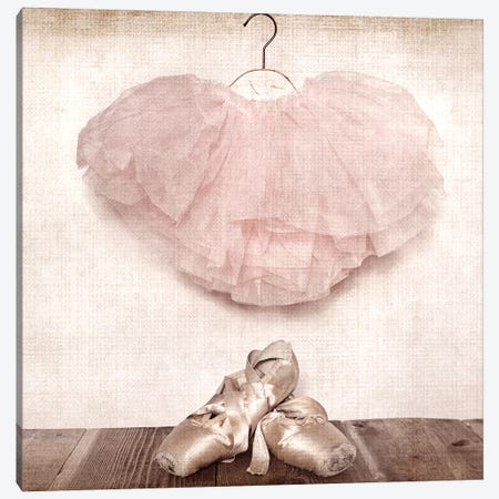 Ballet Slippers And Tutu Canvas Print #SNT18} by Saint and Sailor Studios Art Print
