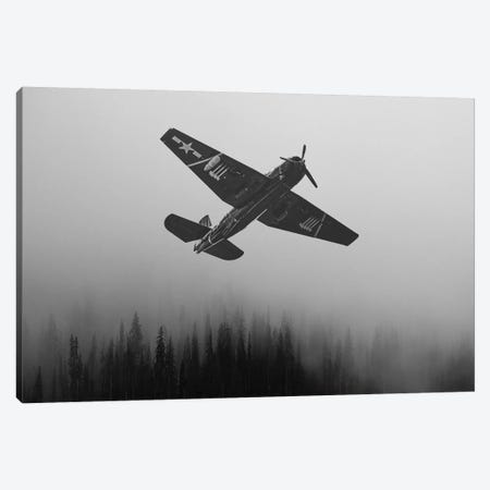 WWII Fighter Emerge Canvas Print #SNT191} by Saint and Sailor Studios Canvas Print