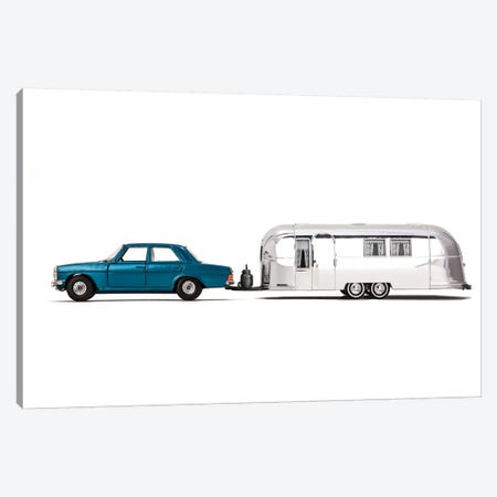 Airstream Car Canvas Print #SNT1} by Saint and Sailor Studios Art Print