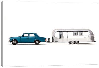 Airstream Car Canvas Art Print