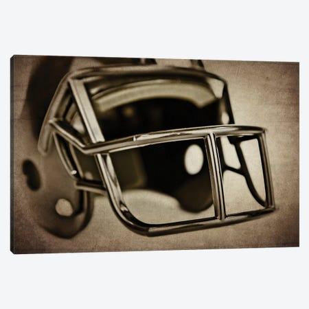 Black Helmet Canvas Print #SNT27} by Saint and Sailor Studios Canvas Art Print