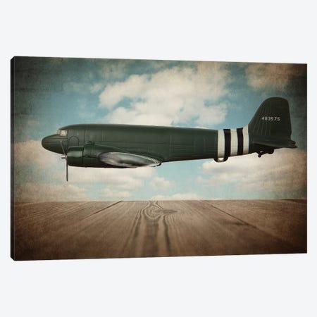 Douglas DC-3 Canvas Print #SNT39} by Saint and Sailor Studios Art Print