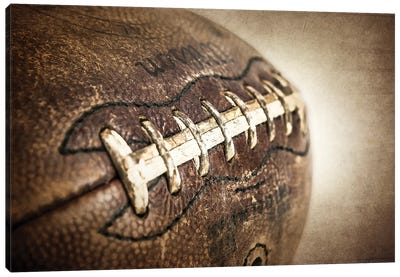 Football Vintage Canvas Art Print