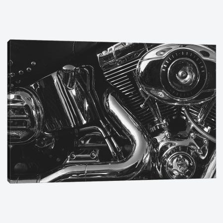 Harley Engine  Canvas Print #SNT55} by Saint and Sailor Studios Canvas Art