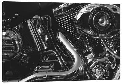 Harley Engine  Canvas Art Print