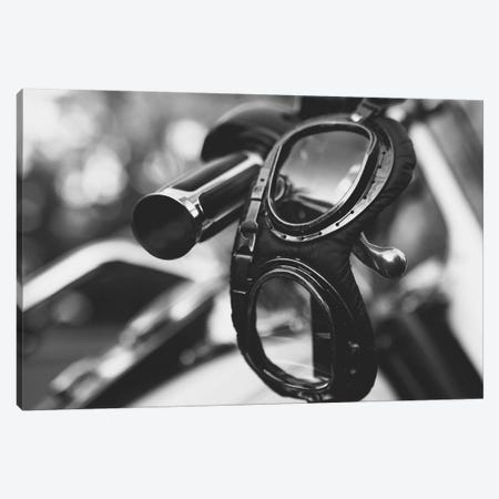 Harley Goggles On the Handle Canvas Print #SNT57} by Saint and Sailor Studios Canvas Wall Art