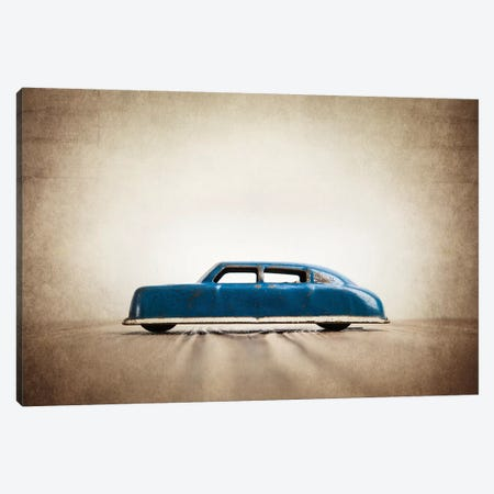 ARGO Blue Sedan Canvas Print #SNT5} by Saint and Sailor Studios Canvas Art