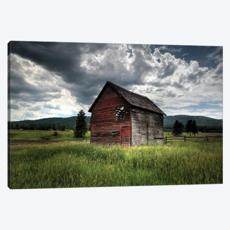 Montana Barn I Canvas Print #SNT65} by Saint and Sailor Studios Canvas Art Print