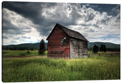 Montana Barn I Canvas Art Print