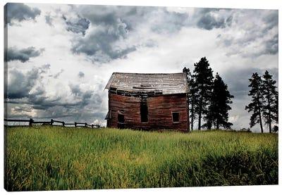 Montana Barn II Canvas Art Print