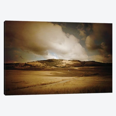Montana Vintage Big Sky Canvas Print #SNT67} by Saint and Sailor Studios Canvas Print