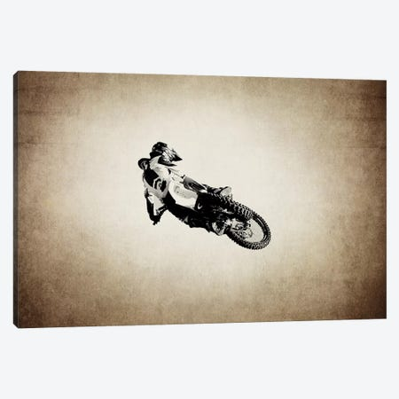 Motocross Vintage Canvas Print #SNT69} by Saint and Sailor Studios Canvas Artwork