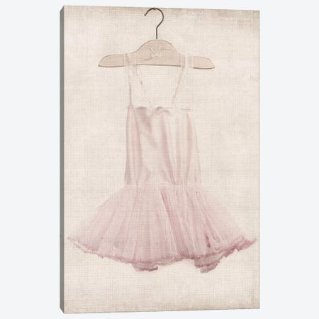 Pink Tutu Ballerina Dress 3-Piece Canvas #SNT78} by Saint and Sailor Studios Art Print