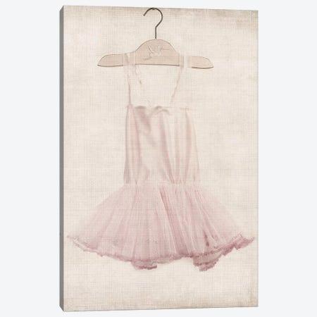 Pink Tutu Ballerina Dress Canvas Print #SNT78} by Saint and Sailor Studios Art Print
